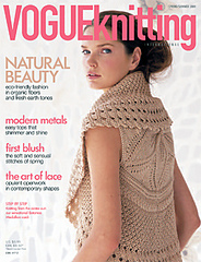 Magazine Review: Vogue Knitting, Spring/Summer 2009