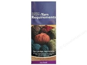 Interweave Press The Knitter's Handy Guide to Yarn Requirements Leaflet