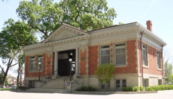 This was the library when I was a kid. Now it's the home of the Paso Robles Historical Society.