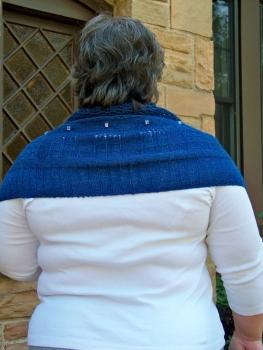 Tardis shawl 6