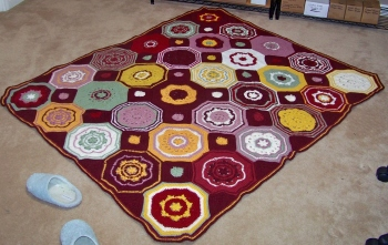 Mosaic Afghan 10