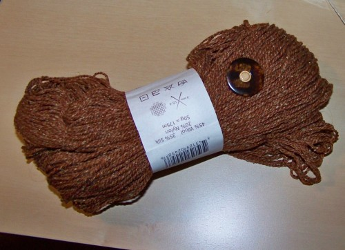 Light Brown Tweed Sweater to Be