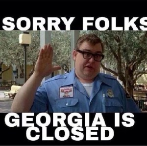 Georgia Is Closed