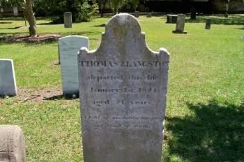 Langston Headstone