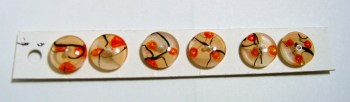Orange Blossom Buttons