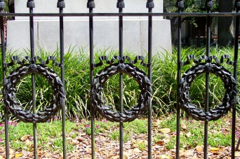 Wrought Iron Wreaths