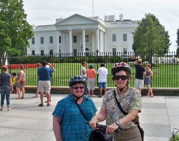 Kelly and me last August when I visited DC