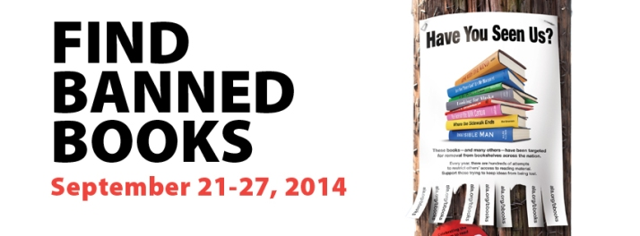 Find Banned Books 2014