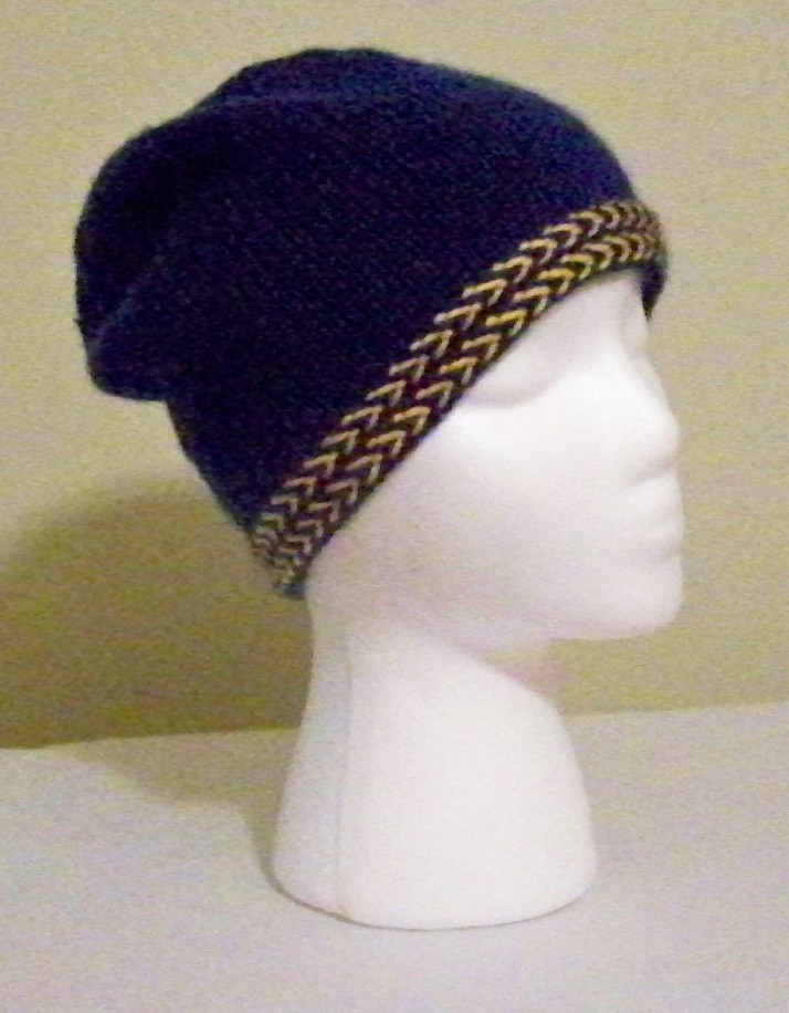 Braided Brim Cap 1