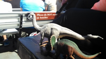 Dinos on the Ferry