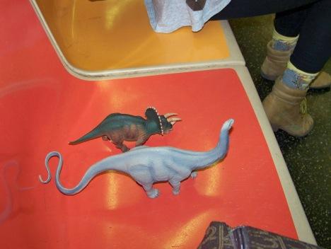 Dinos on the Subway 1