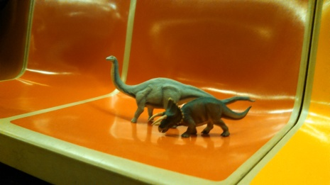 Dinos on the Subway 3