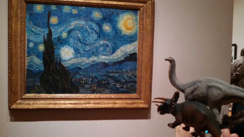 Dinos View The Starry Night