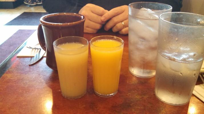 Baby Juice Glasses
