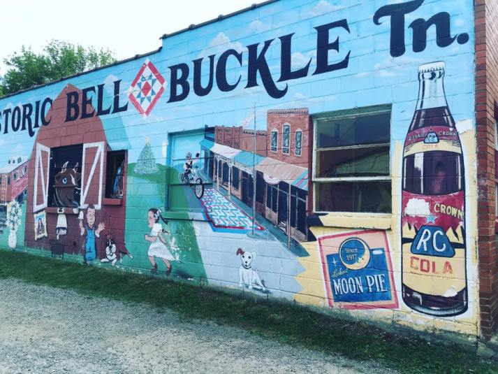 Bell Buckle Mural